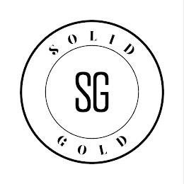 SOLID GOLD SG trademark