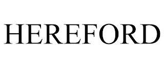 HEREFORD trademark