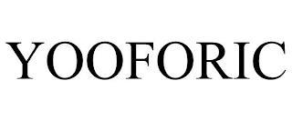 YOOFORIC trademark