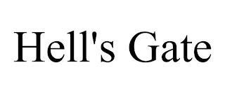 HELL'S GATE trademark