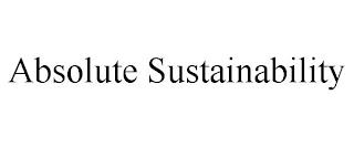 ABSOLUTE SUSTAINABILITY trademark