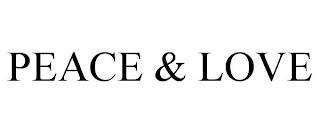 PEACE & LOVE trademark