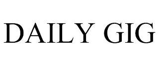 DAILY GIG trademark