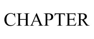 CHAPTER trademark