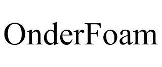ONDERFOAM trademark