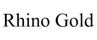 RHINO GOLD trademark