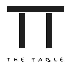 THE TABLE trademark