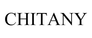 CHITANY trademark