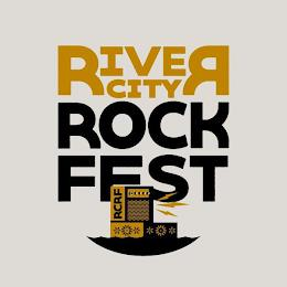 RIVER CITY ROCK FEST RCRF trademark