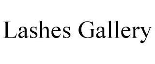 LASHES GALLERY trademark