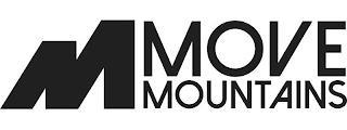 M MOVE MOUNTAINS trademark