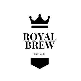 ROYAL BREW EST. 1987 trademark