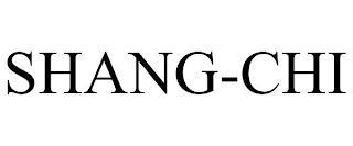SHANG-CHI trademark