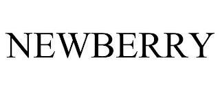 NEWBERRY trademark