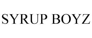 SYRUP BOYZ trademark