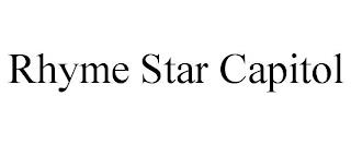 RHYME STAR CAPITOL trademark