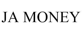 JA MONEY trademark