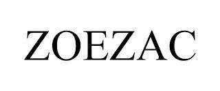 ZOEZAC trademark