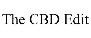 THE CBD EDIT trademark