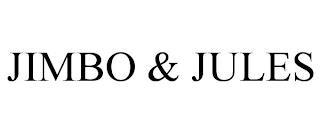 JIMBO & JULES trademark