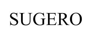 SUGERO trademark