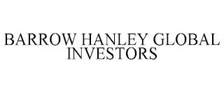 BARROW HANLEY GLOBAL INVESTORS trademark