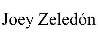 JOEY ZELEDÓN trademark