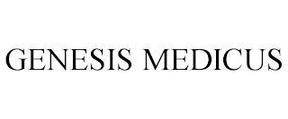 GENESIS MEDICUS trademark