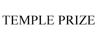 TEMPLE PRIZE trademark