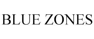 BLUE ZONES trademark
