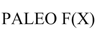 PALEO F(X) trademark