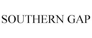 SOUTHERN GAP trademark