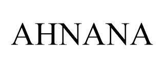 AHNANA trademark