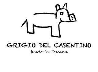 GRIGIO DEL CASENTINO BRADO IN TOSCANA trademark