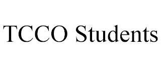 TCCO STUDENTS trademark