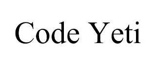 CODE YETI trademark