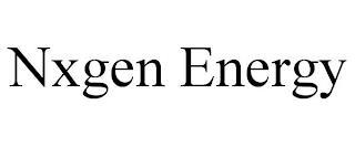 NXGEN ENERGY trademark