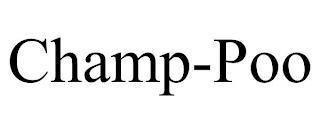 CHAMP-POO trademark