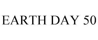 EARTH DAY 50 trademark