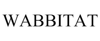 WABBITAT trademark