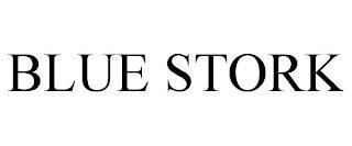 BLUE STORK trademark