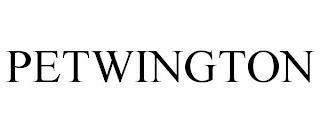 PETWINGTON trademark