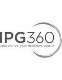 IPG360 INNOVATIVE PARTNERSHIPS GROUP trademark