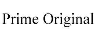 PRIME ORIGINAL trademark
