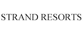 STRAND RESORTS trademark