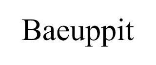 BAEUPPIT trademark