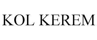 KOL KEREM trademark