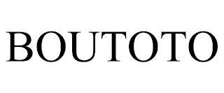 BOUTOTO trademark