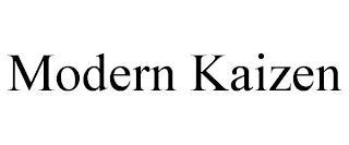 MODERN KAIZEN trademark
