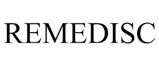REMEDISC trademark